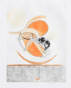 Graham Sutherland - Bee and Flower