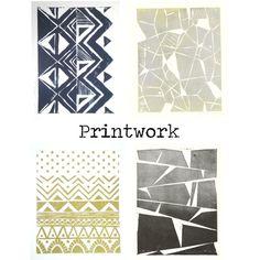 printwork by housetweaking, via Polyvore