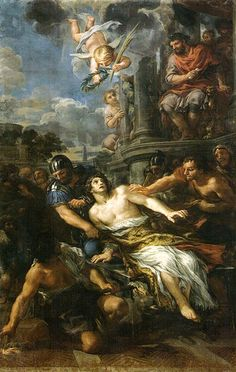 Pietro da Cortona, Martirio di San Lorenzo,  Florence