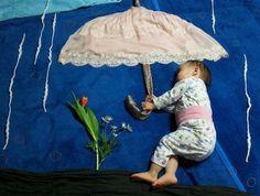 נונו ישנה - תחת מטרייה