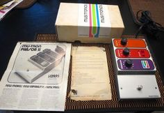 1970's Mutron Phasor w/ Original Box & Lit