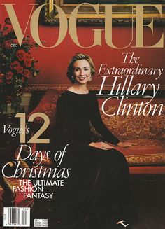 """'The First Lady has never been more popular — or effective."""" (1998) #Vogue #OscardelaRenta"""