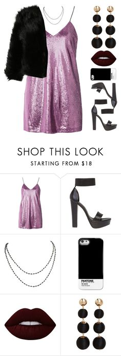 """Marla"" by brie-the-pixie ❤ liked on Polyvore featuring Motel, Windsor Smith, Pantone Universe, Lime Crime, MANGO, holiday, contestentry, newyear and polyPresents"