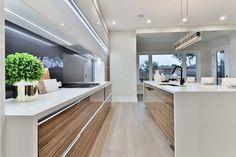 Clean Kitchen Cabinets, Kitchen Tops, New Kitchen, Kitchen Interior, Kitchen Trends, Kitchen Designs, Kitchen Ideas, Kitchen Decor, Contemporary Kitchen Design