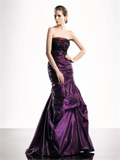 A-Line Strapless Floor Length with Lace Appliques Prom Dress PD10161 www.dresseshouse.co.uk £132.0000