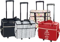 These are great, but I can't get the site to go past this page. 'SEMCO' SEWING MACHINE TROLLEY BAG