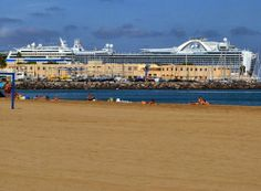 Cruise Ship stop off - Las Palmas de Gran Canaria Tenerife, Canario, Canary Islands, Dolores Park, Cruise, Ship, Beach, Holiday, Travel