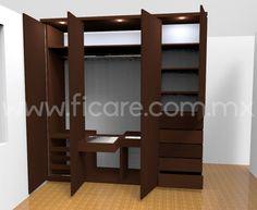 Closet Modelo Jefe  www.ficare.com.mx