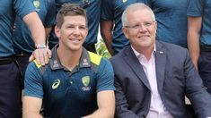 Morrison pulled up over insensitive cricket comment
