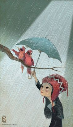 Rained On 575 x 10 inches by YvetteTRuzicka on Etsy, $25.00