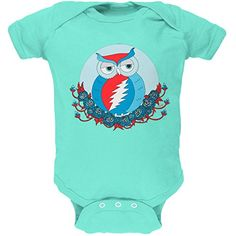 Grateful Dead - Steal Your Face Owl Chill Baby One Piece - 18-24 months Grateful Dead http://www.amazon.com/dp/B00YSOVF08/ref=cm_sw_r_pi_dp_FIlHwb1832RMK