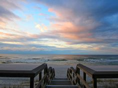 The start of another gorgeous day at Seascape Golf, Beach, and Tennis Resort in Destin