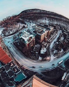Le mont Royal / Mount Royal - #montreal Canada, Airplane View, Spaces, Explore, Adventure, Instagram, Girls, Travel, Toddler Girls