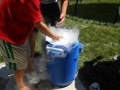 Double the Deliciousness: Homemade Dry Ice Rootbeer