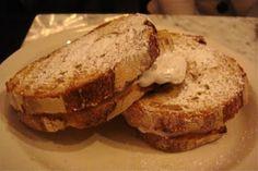 Nutella Panini: chocolate hazelnut spread, banana, marshmallow spread ...