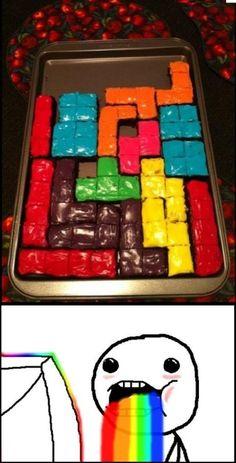 nerd cake!