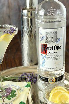 Lavender Lemonade Martini