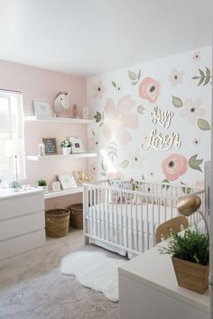 our baby girls whimsical nursery! When we found out we were pregnant I r. Welcome our baby girls whimsical nursery! When we found out we were pregnant I r.,Welcome our baby girls whimsical nursery! When we found out we were pregnant I r. Whimsical Nursery, Baby Nursery Decor, Nursery Neutral, Baby Decor, Floral Nursery, Baby Bedroom Ideas Neutral, Nursery Modern, Rose Nursery, Neutral Nurseries