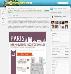 La Tour Triangle, prochaine icône architecturale à Paris ? | Blog Communes.fr #TourTriangle http://tour-triangle-paris.com/la-tour-triangle-prochaine-icone-architecturale-a-paris/
