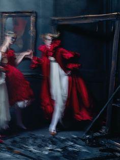 'Dark Angel', photographed by Tim Walker for British Vogue March 2015.