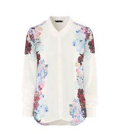Camisa White floral