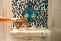 The tradition of the Turkish bath extends far back, to a time before Turks had reached Anatolia. When the Turks arrived in Anatolia, they brought with them one bathing tradition, and were confronted with another, that of Romans and Byzantines, with certain local variants.