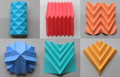 Different paper folding techniques