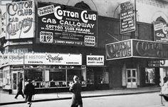 The Cotton Club in Harlem, New York City, c.1930 (b/w photo)