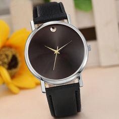 ace92240896 2017 Women Watches Bracelet PU Leather Simple Casual Quartz Wrist Watch  Ladies Quartz-Watch For Women reloj mujer  519. Pulseiras De CouroRelógios  ...