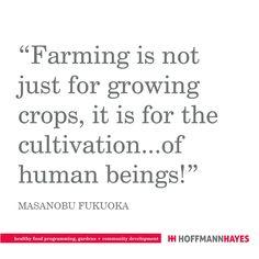 Masanobu Fukuoka, Garden Quotes, Favorite Quotes, Inspirational Quotes, Wisdom, Healthy Recipes, Food, Health Recipes, Meal