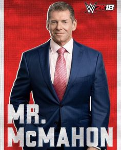 wwe To celebrate #VinceMcMahon's appearance on #SDLive tonight, we would like to announce that #MrMcMahon is playable in #WWE2K18! @wwegames 2017/09/13 00:24:57