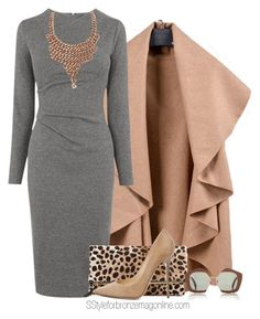 Outfits con vestido ideal para oficina (20) - Curso de Organizacion del hogar