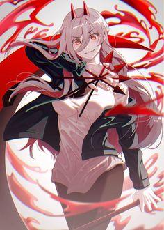 Anime Boys, M Anime, Chica Anime Manga, Manga Girl, Kawaii Anime Girl, Anime Art Girl, Anime Fantasy, Blood Anime, Anime Monsters