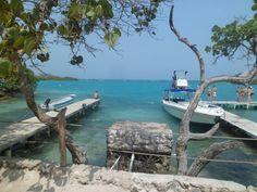 Isla del Sol, Isla del Rosario. Cartagena. Colombia