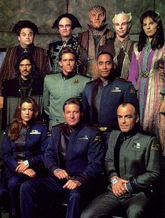 Babylon 5, Best show of all time :) Atleast for me...
