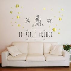 stickers mural le petit prince