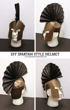 DIY Ares Greek Mythology Costume with Spartan Style Helmet Does your child need to create a Greek Mythology Costume for school? See how my son, with a little help from me, created his DIY Ares Costume! Roman Soldier Costume, Greek God Costume, Greek Costumes, Diy Greek Goddess Costume, Greek Mythology Costumes, Roman Toga, Olympic Crafts, Greek Helmet, Greek Crafts