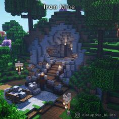 Minecraft Farm, Minecraft Cottage, Cute Minecraft Houses, Minecraft House Tutorials, Minecraft Medieval, Minecraft Plans, Minecraft House Designs, Amazing Minecraft, Minecraft Survival