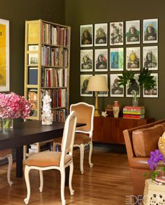 1000 images about color olive branch on pinterest for Olive green dining room ideas