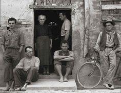 The Family, Luzzara, Italy, 1953, by Paul Strand