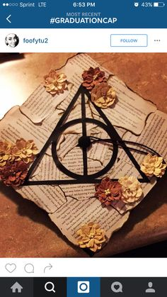 Harry Potter grad cap