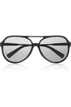 KARL  Aviator-style acetate sunglasses
