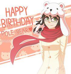 Happy Birthday Pole-Bear! by Wolf-con-f.deviantart.com on @DeviantArt