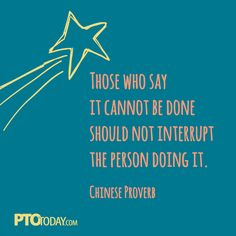 Inspiration from PTO Today!