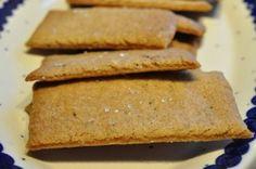 Lynhurtige sprøde krydrede småkager med Muscovadosirup