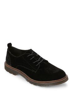 the latest 96a56 f727a Black Claire Velvet Oxfords