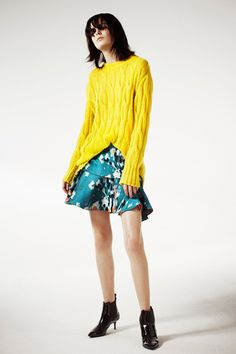 love the cut on the bottom... Philosophy Pre-Fall 2014 Collection Slideshow on Style.com