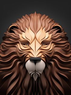 Russian artist Maxim Shkret created animal illustrations for his series Predators featuring a lion, bear, fox, and owl. Software used included 3D Studio Max, Vray, Zbrush, and Adobe Photoshop CS5