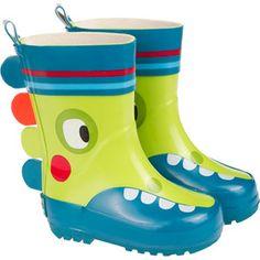 Botas para Niño Lluvia Verdes UFO Tuc Tuc - Bebitos #botas #tuctuc #lluvia $485