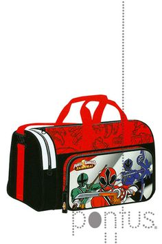 Saco desporto Power Rangers 470x260x270mm | JB